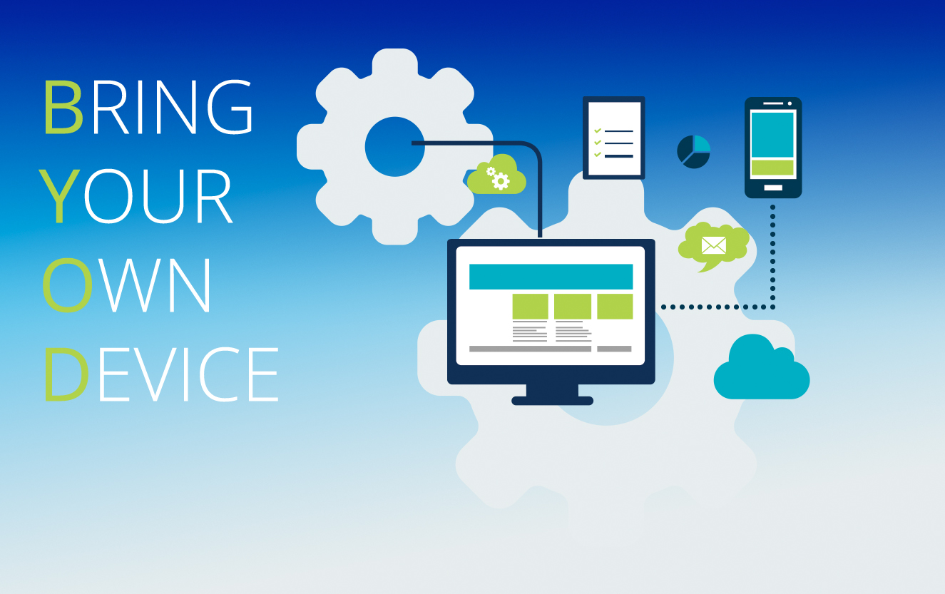Securing the enterprise workspace with BYOD