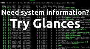 A Powerful System Monitoring Tool called Glances
